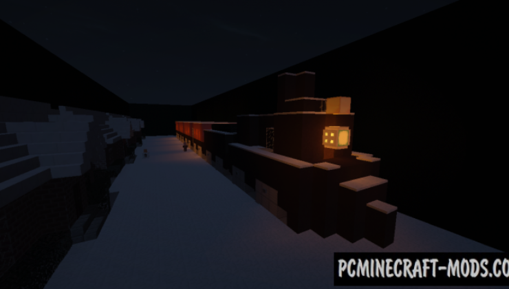 The Polar Express Map For Minecraft