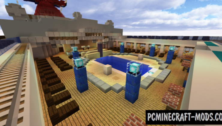Carnival Legend Ship Map For Minecraft