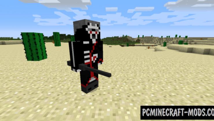 Shinobi Mod For Minecraft 1.7.10