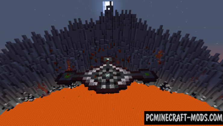 Pennywise Boss Battle Map For Minecraft