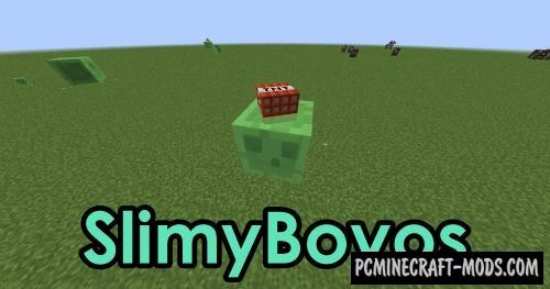 SlimyBoyos Mod For Minecraft 1.12.2