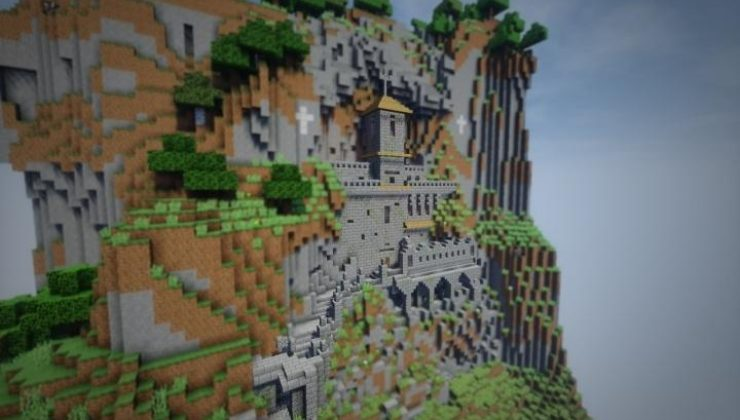 Ostrog Monastery Map For Minecraft