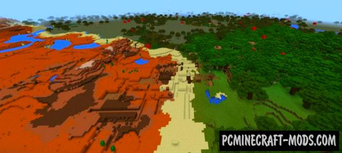 Abandoned Mines Minecraft PE Bedrock Seed 1.2.6, 1.2.5