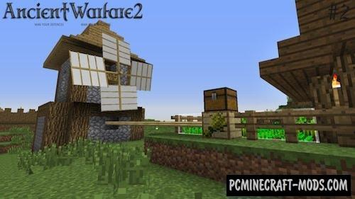 Ancient Warfare - New Villages Mod For Minecraft 1.12.2