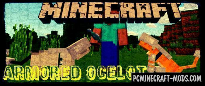 Armored Ocelot Minecraft Pe Bedrock Addon 190 170 Pc Java