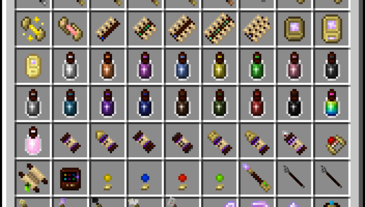 Magical Psi Mod For Minecraft 1.12.2