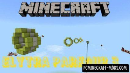 Elytra Wings Parkour 3 Minecraft Bedrock Edition Map 1.5.0, 1.4.0