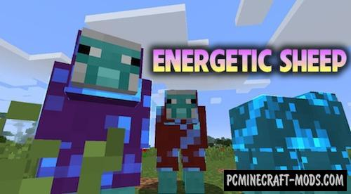 Energetic Sheep - Technology Mod For Minecraft 1.15.2, 1.14.4