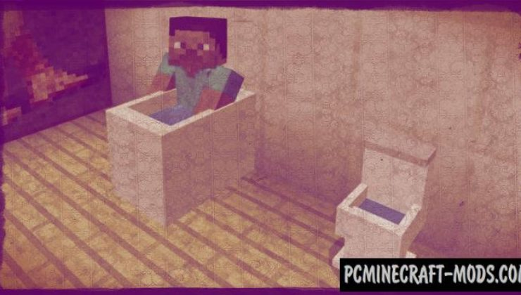 Furniture Minecraft PE Bedrock Mod / Addon 1.9.0, 1.8.0, 1.7.0
