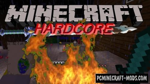 Hardcore Revival Mod For Minecraft 1.14.2, 1.12.2