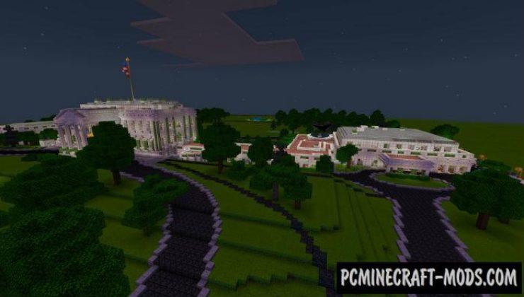 House Donald Trump Minecraft PE Bedrock Map 1.4.0, 1.2.13