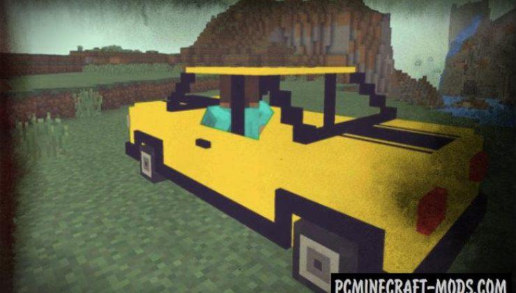 Mech Minecraft PE Bedrock Mod 1.6.0, 1.5.3, 1.4.4
