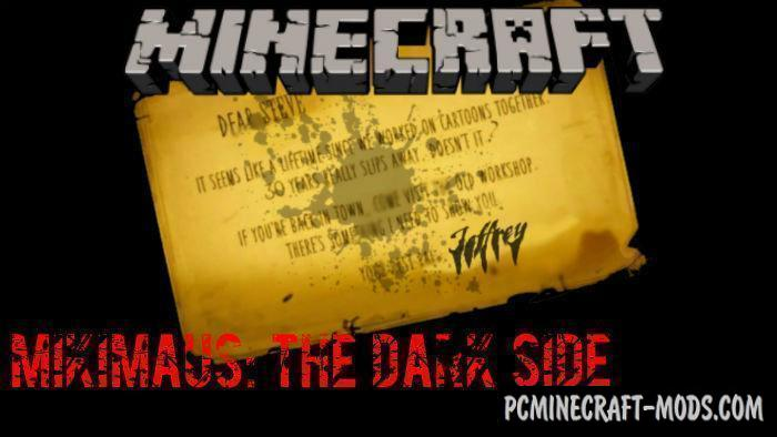 Mikimaus: The Dark Side Minecraft Mobile v. Map 1.5.0, 1.4.0