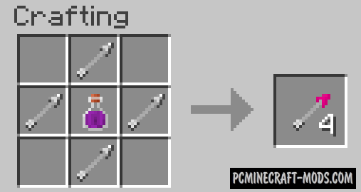 Switch Bow - New Vanilla Weapons Mod For Minecraft 1.16.4