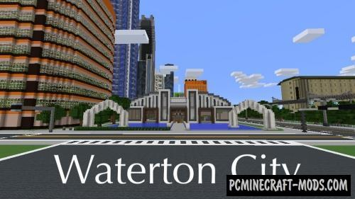 Waterton Map For Minecraft