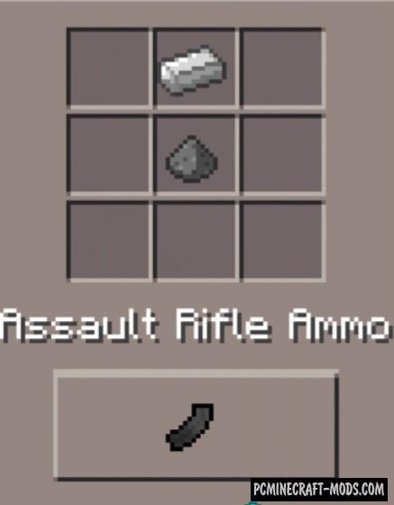 Weapons Mod - DesnoGuns For Minecraft PE Bedrock 1.5.0, 1.4.0, 1.2.13