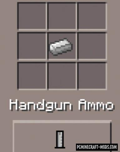 Weapons Mod - DesnoGuns For Minecraft PE Bedrock 1 9 0, 1 8