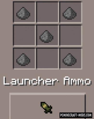 Weapons Mod - DesnoGuns For Minecraft PE Bedrock 1.6.0, 1.5.3, 1.4.4