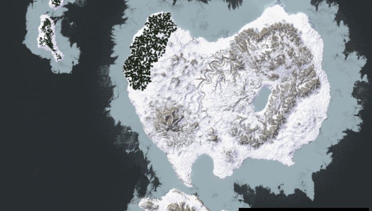 Great Epic World Map For Minecraft