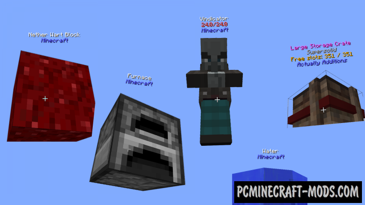 TUMAT Mod For Minecraft 1.12.2, 1.11.2, 1.10.2