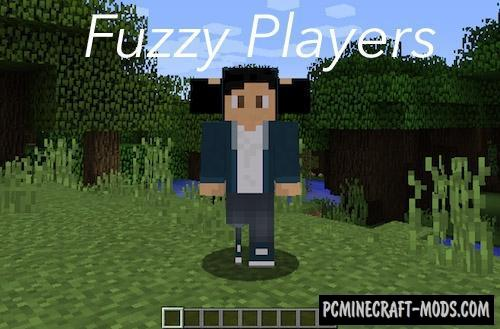 Fuzzy Players Mod For Minecraft 1.12.2, 1.10.2