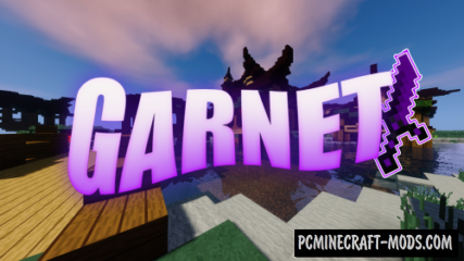 Garnet PvP 32x Texture Pack For Minecraft 1.16.5, 1.16.4, 1.15