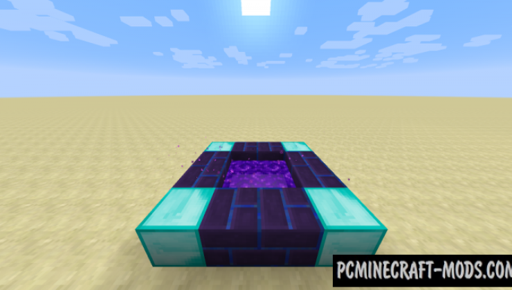 Simple Portals Mod For Minecraft 1.12.2, 1.11.2