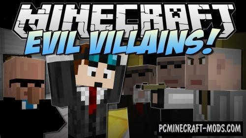 Villains Command Block For Minecraft 1.12.2