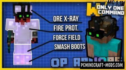 OP Armors Command Block For Minecraft 1.12.2