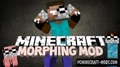 Morphing - Armor Mod For Minecraft 1.12.2