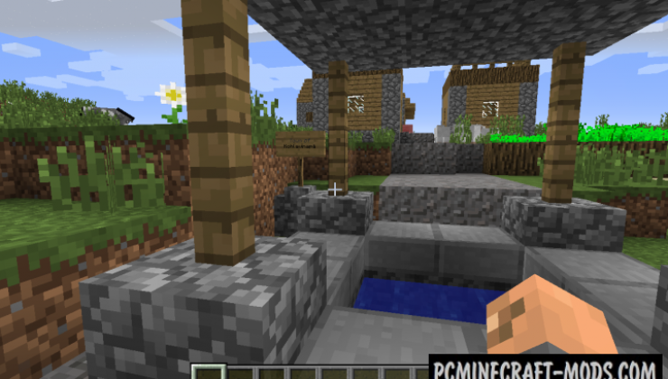 Village Names Mod For Minecraft 1.12.2, 1.11.2, 1.10.2, 1.7.10