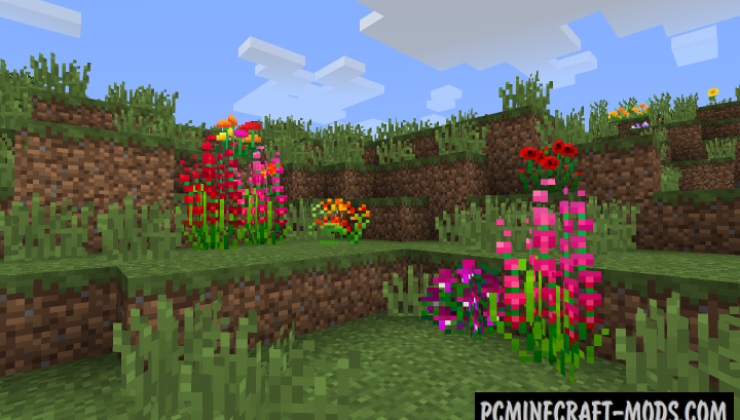 Ferdinand's Flowers Mod For Minecraft 1.12.2
