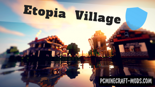 Etopia Village Map For Minecraft