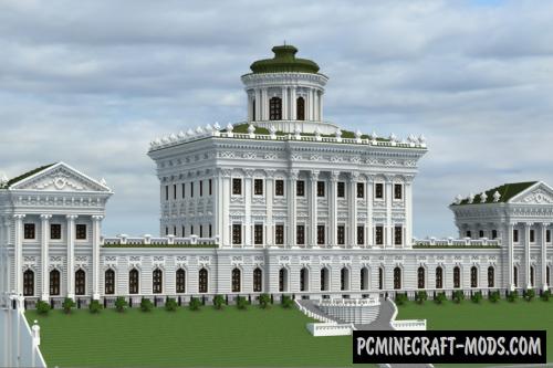 Pashkov House Map For Minecraft
