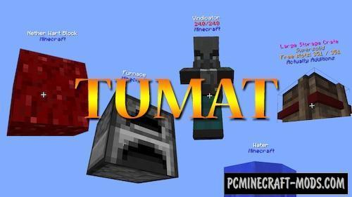 TUMAT Mod For Minecraft 1.12.2, 1.11.2, 1.10.2