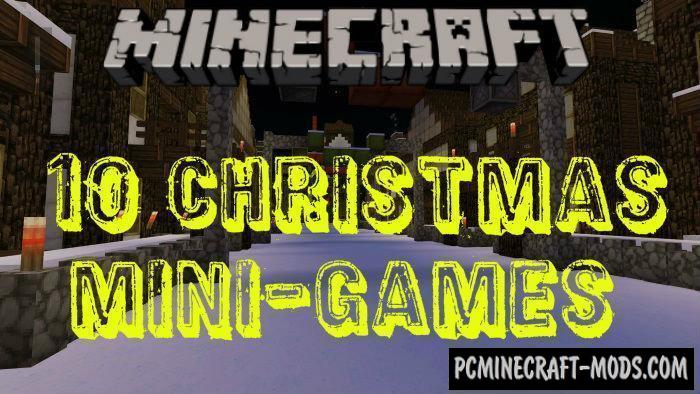 10 Christmas Mini-Games Minecraft PE Map 1.4.0, 1.2.13