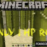 Ice Road of Parkour Minecraft PE Bedrock Map 1.2.11, 1.2.10