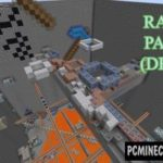 Rainbow Parkour Map For Minecraft