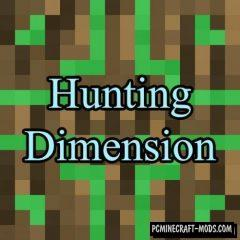 Hunting Dimension Mod For Minecraft 1.12.2