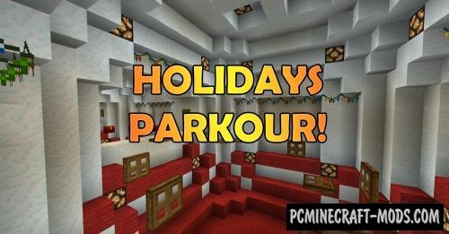 Holidays Parkour! Map For Minecraft