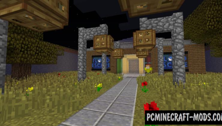 Flood Escape - Parkour Map For Minecraft