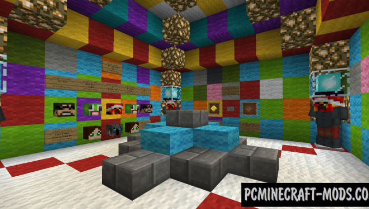 Rainbow Parkour (Dropper) Map For Minecraft