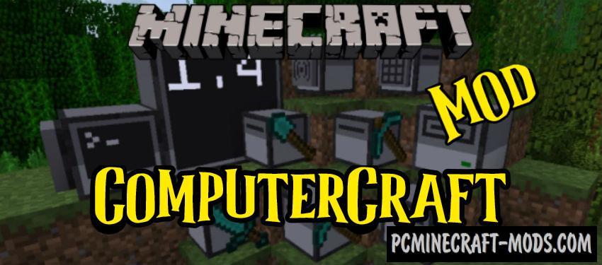 ComputerCraft - Technology Mod For MC 1.12.2, 1.8.9, 1.7.10