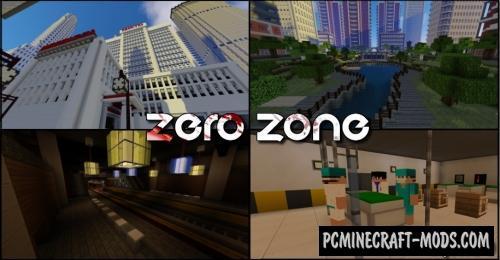 Zero Zone - Adventure, Horror Map For Minecraft