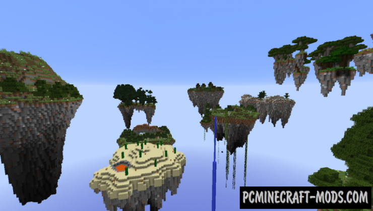 Waka Islands 2 - Survival Map For Minecraft