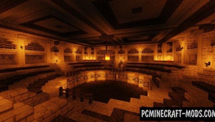 Desert City of Ahn'Set Map For Minecraft