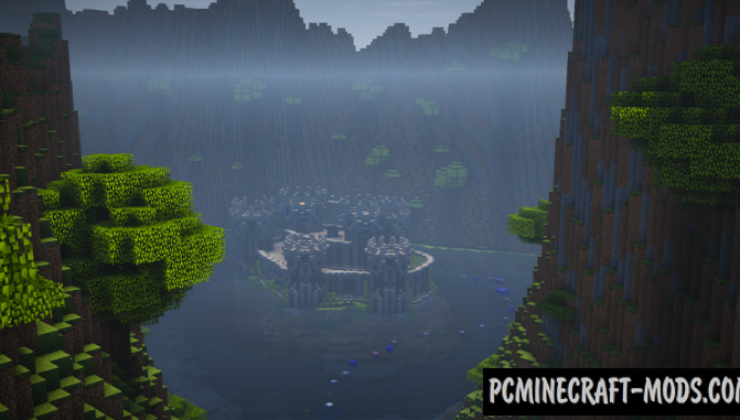 Escape: The Valley - Parkour Map For Minecraft