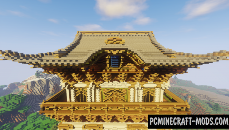 Nikko Toshogu Shrine - Building Map For Minecraft