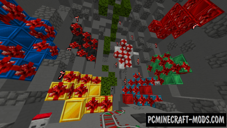 Christmas PvP 128x Resource Pack For Minecraft 1.8.9