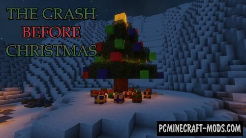 The Crash Before Christmas - Adventure Map For MC